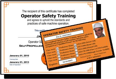 Safety training plus llc aerial lift operator for Scissor lift certification card